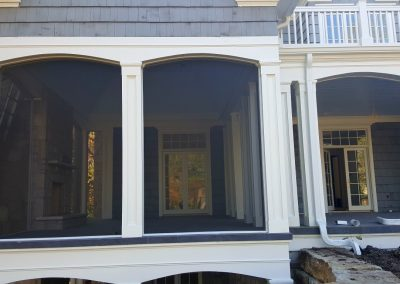 Large Back Porch Screens