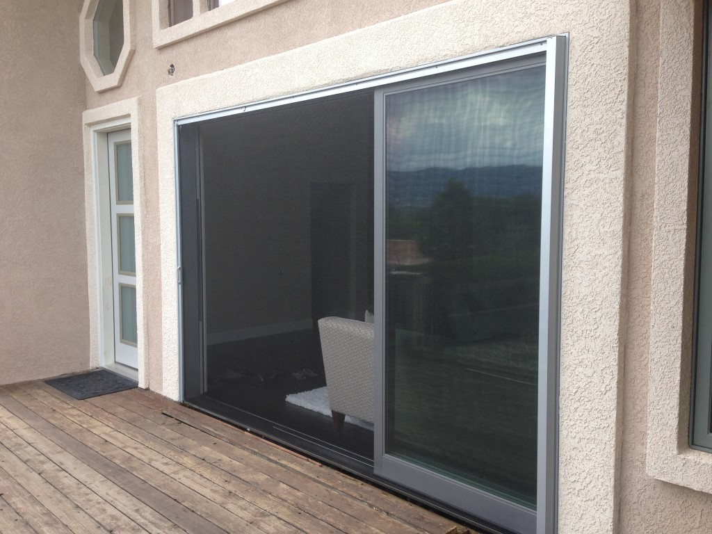 Phantom Door Screen Retractable Door Screens