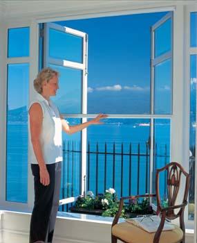 serene window